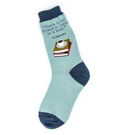 Foot Traffic Womens Loyal Books Socks