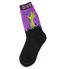 Foot Traffic Womens Zombies Socks