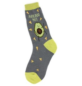 Foot Traffic Womens Avocado Nut Socks