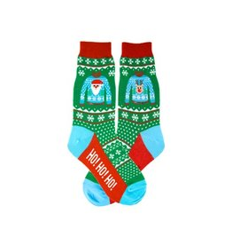 Foot Traffic Womens Ugly Sweater Socks