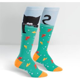 Sock it to Me SITM Women's Gone Fishin' Socks