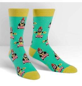 Sock it to Me SITM Men's Monkeying Around Socks