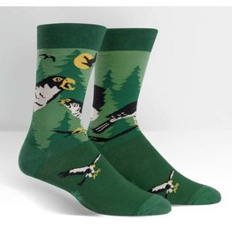 Sock it to Me SITM Men's Wilderness Hawk Socks