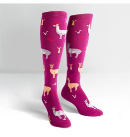 Sock it to Me SITM Women's Llama Drama Socks