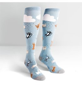 Sock it to Me SITM Women's Raining Cats & Dogs Socks