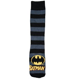 DC Mens Batman Stripes & Logo Crew Socks