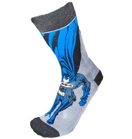 DC Mens Landing Batman Crew Socks