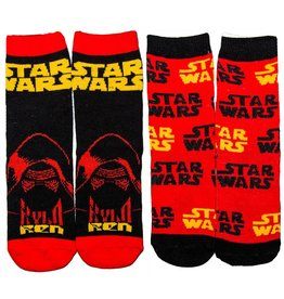 Kids Kylo Ren Socks 2 Pair Pack
