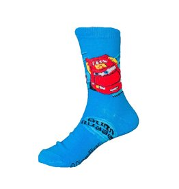 Disney Kids Cars Lightning McQueen Socks Burn Rubber