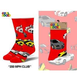 Cool Socks Cool 200 MPH Club LRG