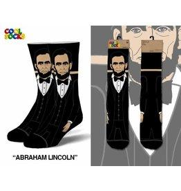 Cool Socks Cool Abraham Lincoln 360 Mens Socks