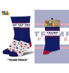 Cool Socks Cool Trump Pence LRG