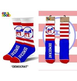 Cool Socks Cool Democrat Mens Socks