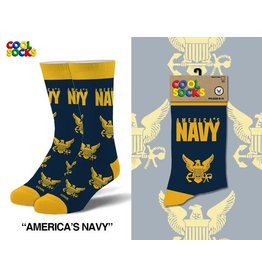 Cool Socks Cool Americas Navy Mens Socks