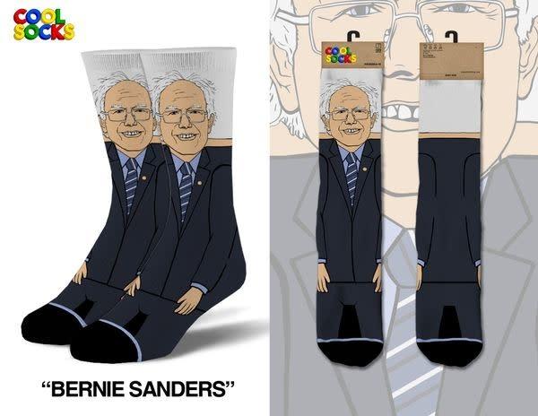 Cool Socks Cool Bernie Sanders LRG