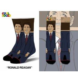 Cool Socks Cool Ronald Reagan 360 Mens Socks
