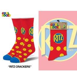 Cool Socks Cool Ritz Crackers Mens Socks