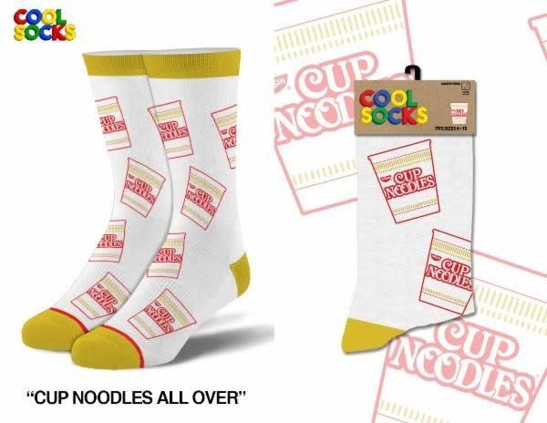 Cool Socks Cool Cup Noodles All Over Mens Socks