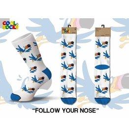 Cool Socks Cool Follow Your Nose Mens Socks