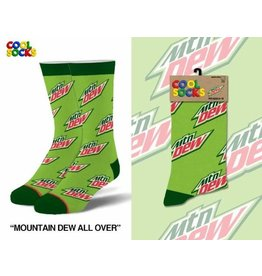 Cool Socks Cool Mountain Dew All Over Mens Socks