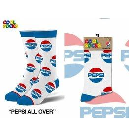 Cool Socks Cool Pepsi All Over Mens Socks