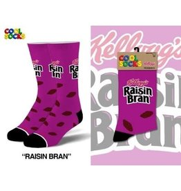 Cool Socks Cool Raisin Bran Mens Socks