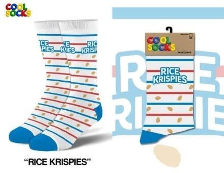 Cool Socks Cool Socks Rice Krispies Mens Socks