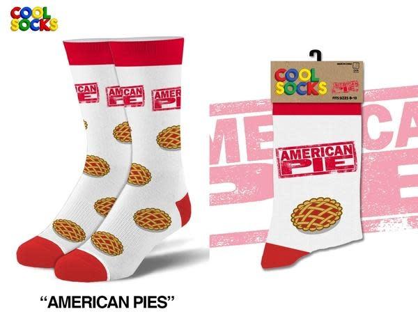Cool Socks Cool American Pie LRG