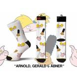 Cool Socks Cool Hey Arnold, Gerald & Abner Mens Socks