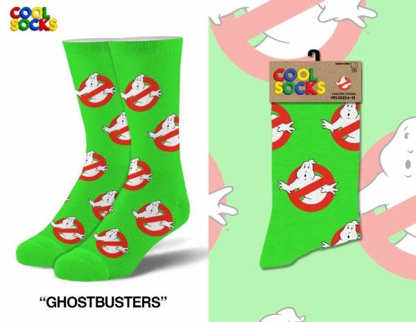 Cool Socks Cool Ghost Busters Logo LRG