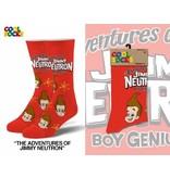 Cool Socks Cool Jimmy Neutron Mens Socks