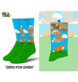 Cool Socks Cool Zero Fox Given Mens Socks