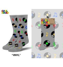 Cool Socks Cool Vinyl Mens Socks