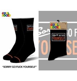 Cool Socks Cool Socks Sorry Go F Yourself Mens Socks