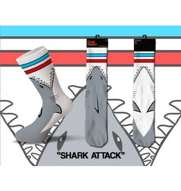 Cool Shark Attack Socks Mens Socks