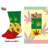 Cool Socks Cool Rasta La Vista Mens Socks