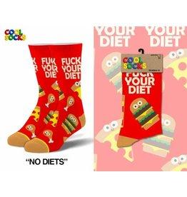 Cool Socks Cool No Diets Mens Socks