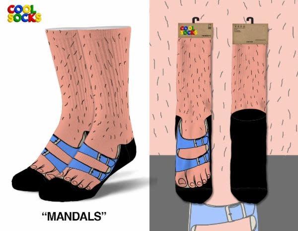 Cool Socks Cool Socks Mandals Men Socks