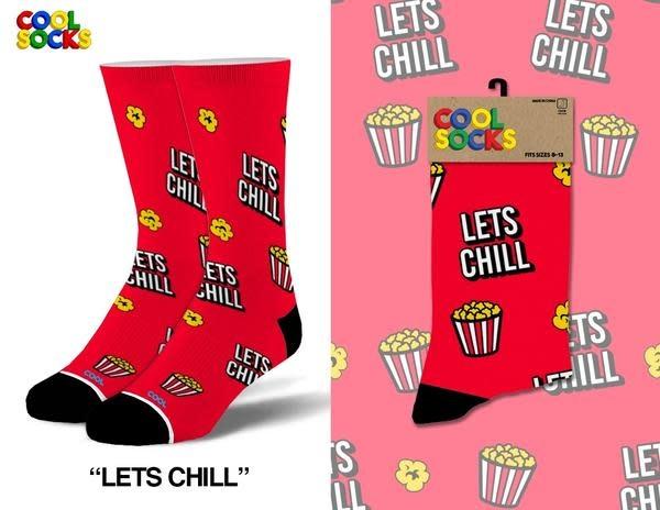 Cool Socks Cool Lets Chill Mens Socks