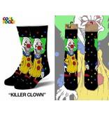 Cool Socks Cool Killer Clown LRG