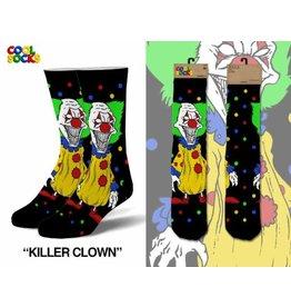 Cool Socks Cool Killer Clown Mens Socks