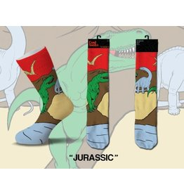 Cool Socks Cool Jurassic Mens Socks