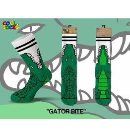 Cool Gator Bite Socks Mens Socks