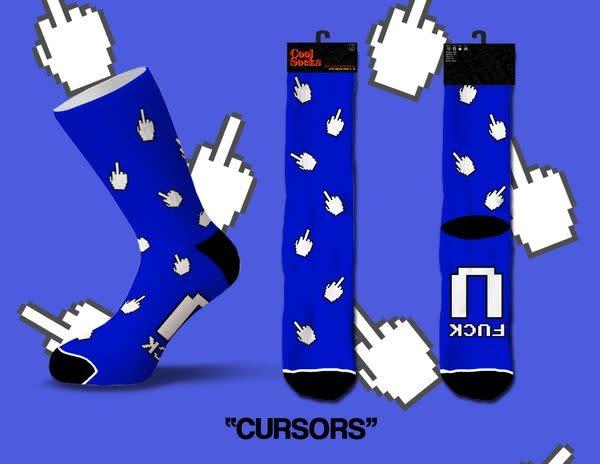 Cool Socks Cool Cursors Mens Socks