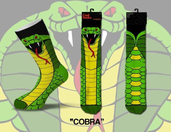 Cool Socks Cool Cobra Mens Socks