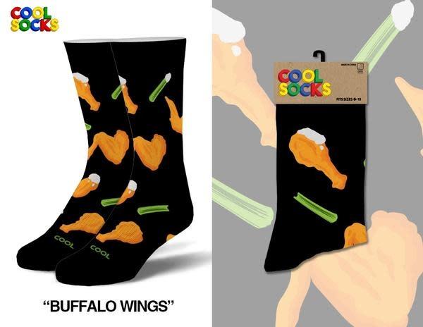 Cool Socks Cool Buffalo Wings Socks Mens