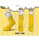 Cool Socks Cool Beer Time Mens Socks