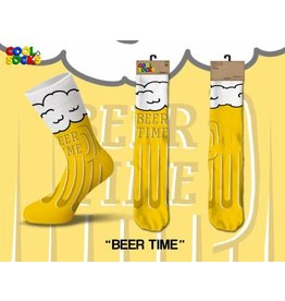 Cool Socks Cool Beer Time Mens Socks