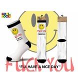 Cool Socks Cool F.U. Have a Nice Day LRG
