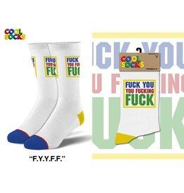 Cool Socks Cool Fuck You Fucking Fuck  Mens Socks